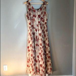 Esprit Sleeveless Maxi Dress